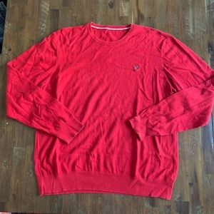 5/$25 American Eagle red classic fit sweater